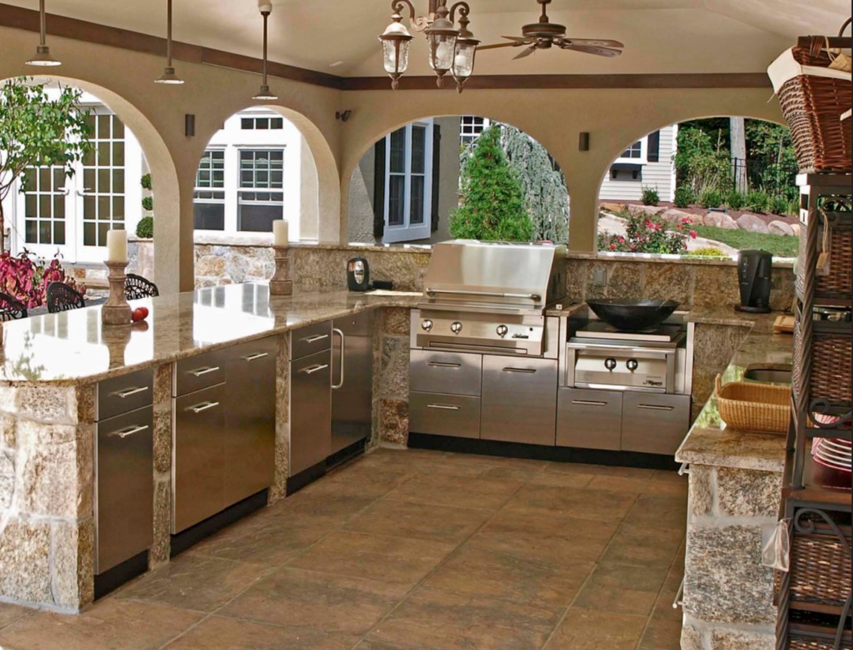 Outdoor Kitchens in LA, CA